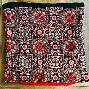 Other - Handmade red pillow case